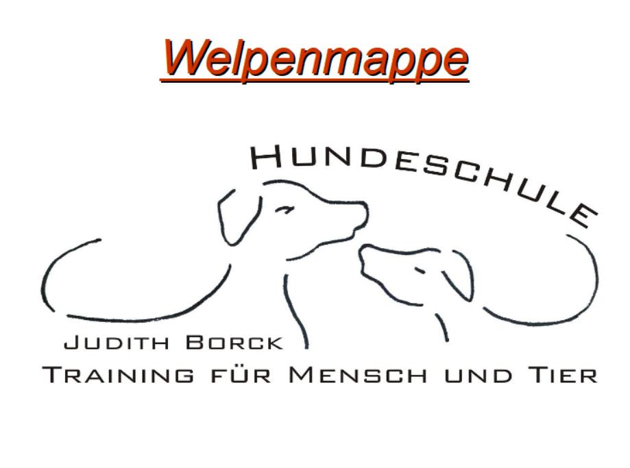 Leseprobe - Welpenmappe